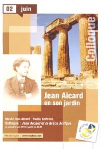 Jean Aicard en son jardin