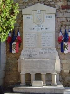 Monument aux morts de Solliès-Ville
