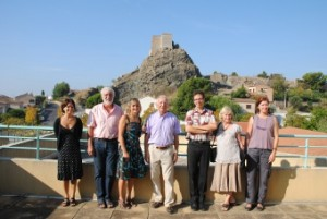 Les organisateurs et les membres des Amis de Jean Aicard