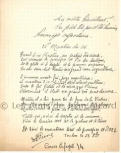 Poème écrit par le poète toulonnais Léon Vérane
