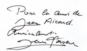 autographe Gaven