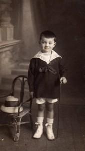Jean Gaven enfant