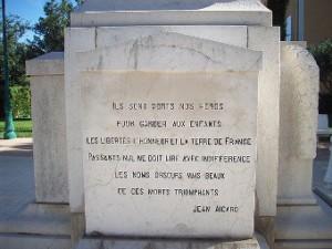 Monument aux morts de la Garde