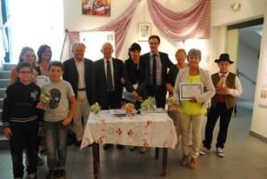 Le jury et les candidats récompensés